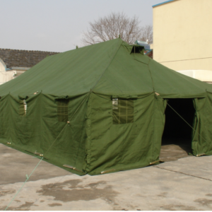 Tent Manufacturer in china 20 person military canvas big camping tents