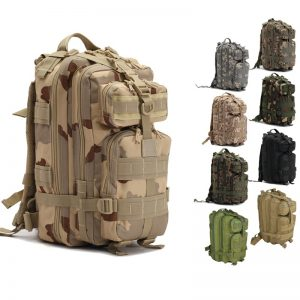 MOLLE  System Tactical Camping Hiking Backpack  military tactical gear