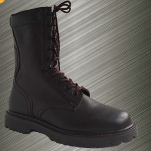 Wholesale stock in china American Style genuine Leather Army high quality Swat boots military