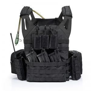 Military SWAT Combat Training bulletproof tactical Vest with water bladder
