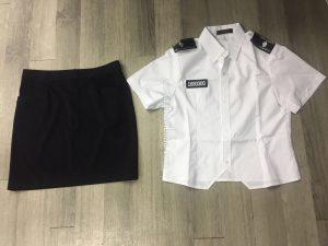 Customized Women's Security Uniform Security Guard Uniform