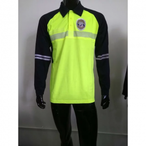 police work wear security T-shirt Long sleeve Polo shirt